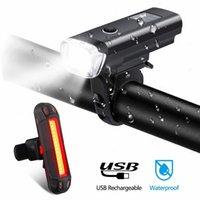Wasserdichte wiederaufladbare Fahrradlicht LED Fahrradlicht Set Intelligenter Sensor Vordere Lichter Fahrrad Zubehör Lampe # 3N26 24ZF #
