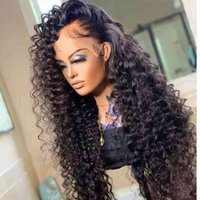 30 34 Inch Loose Deep Wave HD Frontal Wigs for Women Curly Hu Hair Brazilian 13x4 Wet And Wavy Water Wave Lace Front Wig