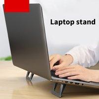 Creative portátil soporte levantamiento y plegable soporte de escritorio portátil computadora refrigeración de la computadora Tablet PC Accesorios de la PC Universal Cooling Pad