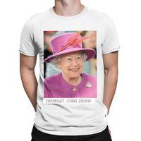 CCCCSPORTNEWSEEÑO NUEVO T Shirt Hombres Queen Elizabeth II T Shirts Británica Royal Camisas Hombre Christmas Tess Camiseta Adulto