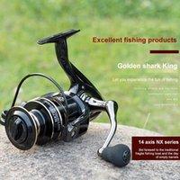 Baitcasting Reels NX2000-7000 All-metal Fishing Spinning Reel Ultralight Stainless Steel Stability Flexible Road Sea Tools