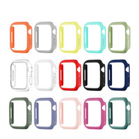 For Apple Watch Series 7 Fashion Hard PC Protect Bumper Frame Case Cover iwatch 41mm 45mm