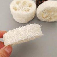 2 cm espesor de esponja natural Loofah corta las rebanadas para la fabricación de jabón o el titular de la placa 1415 T2