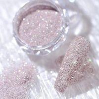 Nail Crystal Diamonds Powder Colorful Nail Glitter Shiny Pigment Holographics Glass Micro Drill Dust Spangle Nails Art Decor