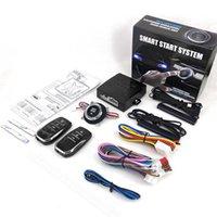 Sistema de alarme remoto do carro Bloqueio da porta central sem chave Multifuncional Start Stop Botão Auto Acessórios Ferramenta Proteção de roubo
