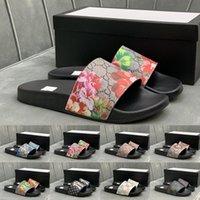 Preferencial 2021 Sandalias de deslizamiento de la moda Zapatillas para hombres Mujeres con diseño original Diseñador Unisex Playa Flip Flaks Slipper Calidad Tamaño E XAN