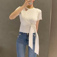 Летний корейский стиль с коротким рукавом вязаная футболка женщина тонкий сексуальный цыпленок топы женский тонкий свитер дамы женские женские