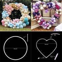 Decorative Flowers & Wreaths 1.5M Plastic Tube For Artificial Flower Wreath Wedding Heart Frame Decoration Diy Arch Birthday Balloon Bow Pro