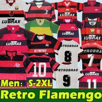 Flamengo Ретро Футбол Джетки romario 1978 79 82 88 90 95 96 2009 10 Главная Красивый Черный Винтаж Классический Классический Коллекция Фламандская Футбольная Рубашка Bebeto Moreira Top