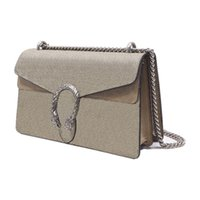 Diseñadores de lujos bolsas bolso bolso de mano bolsa de lona o detalles de cuero Antiguo forro de microfibra de hardware de plata antigua con un acabado similar a un gamuza