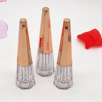 Rose Gold Luxury Sexy Lip Gloss Tube Case 3ml Make up Transparent Plastic Eye Liner Mascara Cosmetic Packaging Containers 200pcshigh qty
