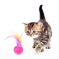 Toys Cat Toys Прочная ротализационная игрушка пластиковые шариковые инструменты обучения Устранить скучное время Пусть здоровье домашних животных расти