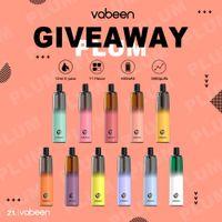 11 Colors Vabeen Disposable E Cigarette Vape Pen Pod System Cloud Vaporizer 400mAh Rechargeable Battery Mesh Coil
