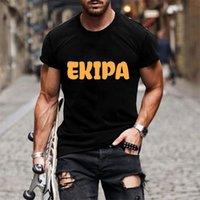 Men's T-Shirts Goth shirt ekipanime, Japanese, high quality, short sleeve, male and female, harajuku 90s style CHC5
