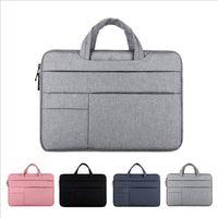 Sacs pour ordinateurs portables Mens-Womens 13 14 15 15.6 Établissement de cahier étanche Case à sacs à main MacBook Air Air Proxiaomi Huawei Porte-documents