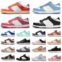 Nike SB dunk dunks low UNC coast zapatos casuales para hombre zapato de plataforma Trail End Laser Orange Syracuse Civilist blanco Infrarrojos hombres mujeres zapatillas deportivas