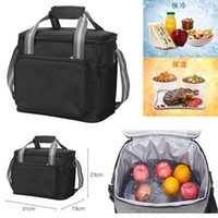 Insulation Bag Thickened Outdoor Oxford Cloth Ice Pack InsulationS And Cold Storage Large-capacity Portable Lunch Bags