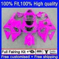 Injection Mold Bodywork For SUZUKI GSXR 1000CC 1000 CC K2 00 01 02 Body 24No.119 GSXR1000 GSX-R1000 2000 2001 2002 Gloss pink GSXR-1000 2000-2002 100% Fit OEM Fairing