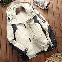 Men's Trench Coats Men Women Softshell Outdoor Jacket Multi-function Windproof Waterproof Male Winter Sailing Mountain&Hiking Outwear