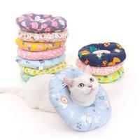 Elizabeth anillo gato anti-lamiendo anti-mordida collar de perro de perro suministros para mascotas collares de manga protectora de cabeza