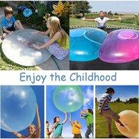 Xmy أطفال نفخ هدية في الهواء الطلق لينة مياه الهواء مملوء فقاعة الكرة ماجيك تفجير بالون لعبة متعة حزب لعبة للطفل