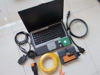 Per BMW ICOM A2 Strumento di scansione ISTA con laptop D630 RAM 4G HDD 1000 GB Nuova modalità software Expert Ready to work programmazione diagnostica