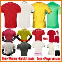 2021 2022 Футбольные майки футбол Фанаты Игрок версия 22 22 Клуб Футбольная футболка 2021-22 Леди Джерси Ребенок Camisa de futebol Мужчины Женщины Kids Kit Blank Camiseta Uniforment Kits