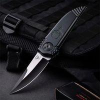 El nuevo cuchillo plegable de MEDFORD D2 Handilla de alumnio de la cuchilla afilada EDC Defensa Autodefensa Táctica Survival Cuchillos de regalo Kershaw de 7100 7500 7900