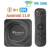 X88 Pro 20 TV-Box Android 11 8 GB RAM 128GB 4GB 64GB 32GB ROUCKCHIP RK3566 Unterstützung von Google Assistant X88PRO Media Player
