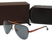 2021 Moda Mens Retro designers de Aviator Sunglasses Vidro Sunglassess Toad Espelho Óculos Drive Driving Goggles para homens e mulheres
