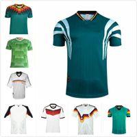 레트로 Klinsmann 축구 유니폼 alemania 1988 90 92 94 96 98 2014 고대 슈바인슈타이거 Klinsmann Klose Muller Moller 축구 셔츠