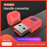 Game Controllers & Joysticks Aolion Wireless Bluatooth Converter For NS Gamepad PS5 Handle USB No Lag Adapter Work With PC Switch Lite Andro