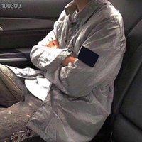 2021 망 클래식 럭셔리 디자이너 재킷 남성 자켓 방수 고품질 나일론 팔 로고 자수 레이블 YKK 지퍼 아시아 큰 크기 대형 탑 셔츠