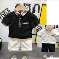 Розничные летние мальчики для мальчиков девочек футболки хлопчатобумажные дети с коротким рукавом футболка высокое качество детей разворотный воротник плед футболка детская одежда