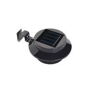 3LED 태양 램프 구동 에너지 절약 야외 솔라 램프 벽 조명 정원 가로 야드 울타리 거터 지붕 벽에 대 한 모든 날씨 빛