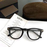 Tom para vintage pequeno rosto homem Óptica óculos quadros forde acetato homens mulheres lendo miopia prescrição óculos tf5488 moda sunglass