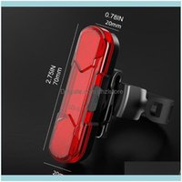 Lights Aessories Sports & Outdoorshigh Brightness Bike Rear Usb Powerful Led Bicycle Warning Tail Light Rechargeable Outdoor Night Riding Cy