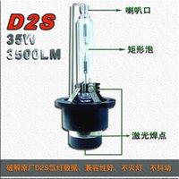 Fari dell'automobile 1 paia 35W D2 D2S D2C D2R (extra $ 1,00 / pair) HID XENON Sostituzione lampadine Genuine AC lampade senza adattatori 4.3K 6K 8K 10K 12K