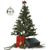 6pcs Christmas Ball Ornaments 5cm Mini Bright Disco Reflective Mirror Tree Decoration Xmas Home Party Favo Gift