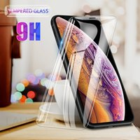 Protective Glass For iPhone 11 12 Pro Max XS XR 7 8 6s Plus SE Screen Protectors