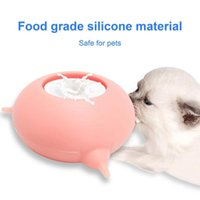 Cat Bowls & Feeders 200ML Pet's Bubble Milk Bowl 3 Nipples For Puppies  Kittens Feeder Dogs Puppy Silicone Feeding Station Nursing Bottle