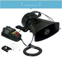 12v 5 سيارة صوت تحذير صفارة الإنذار القرن باسكال نظام مكبر للصوت mic epyg