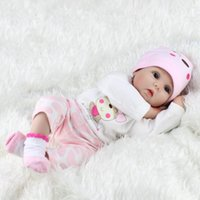 43cm Baby Toys Kids Infant Toddler Lifelike Reborn Newborn Baby Doll Kids Girl Playmate Birthday Gift