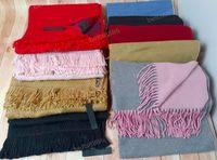 Sciarpa di moda all'ingrosso per le donne design Luxur di alta qualità inverno womens sciarpe scialle scialle donna e ragazza sciarpe di lana lunga