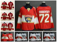 2021 Florida Panthers Ice Hockey Jerseys Mens Aleksander Barkov Jersey Jonathan Huberdeau Sergei Bobrovsky Aaron Ekblad Keith Yandle Frank Vatrano Stitched