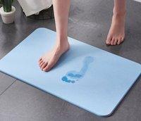 Bath Mat Bathroom Carpet Water Absorption Rug Bathroom Mat kitchen Door Floor Mats Diatom Ooze Anti-slip Water Proof Floor Rugs