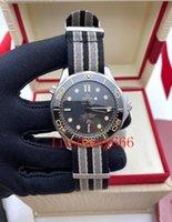 Keramische Bezel Mens Horloges Mode Mechanische Automatische Beweging Drive 300m 007 James Bond Master NAVO Band Designer Polwatches