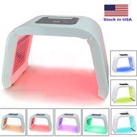 Archivio USA 7 colori PDT LED Maschera facciale Maschera per la terapia per la terapia per la pelle del viso Salone di ringiovanimento della pelle Attrezzature di bellezza