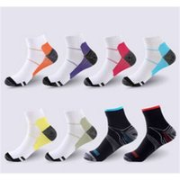 Breathable Compression Ankle Socks Anti-Fatigue Plantar Fasciitis Heel Spurs Pain Short Socks Running Socks For Men Women Accessories