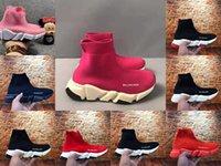 子供男の子の女の子スポーツの靴赤い色の子供サッカーの靴下のブーツデザイナーファッションベイビーボーイズ夏のバスケットボールスニーカー子供走行靴